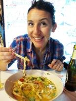 Tom Yum soup in Ao Nang, Thailand