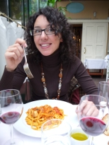 Spaghetti alla chitarra al sugo, Milan, Italy.